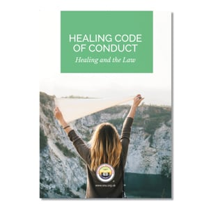 Code of Conduct Healing and the Law