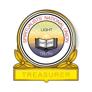 Treasurer Pin Badge