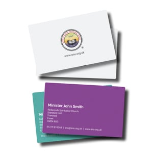 Ministers Business Cards
