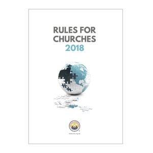 Rules for Churches 2018